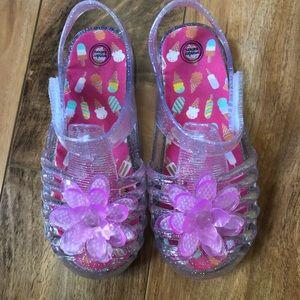 WonderNation Summer Jelly Sandals-Size 10